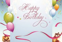 Free Printable Blank Greeting Card Templates New Birthdays Card Card Design Template