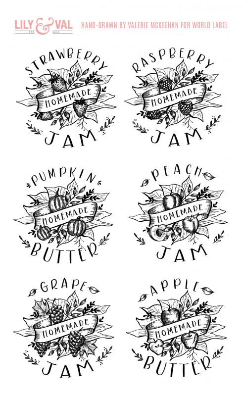 Free Printable Jar Labels Template Unique Free Printable Labels Templates Label Design Worldlabel
