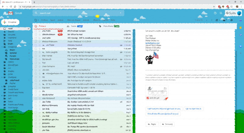 Google Label Templates New Handy Gmail Settings For Folks That Like Outlook Updated