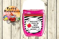 Hand Sanitizer Label Template Awesome 62 Best Thank You S Images Hand Sanitizer Sanitizer