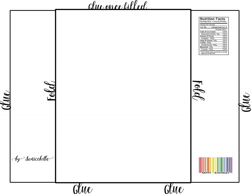 Hershey Labels Template Awesome Printable