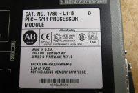 Hmis Label Template Awesome Details About Allen Bradley 1785 L11b D Plc 5 11 Processor Module
