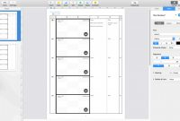 Label Template for Pages Awesome Apple Pages Japanese Anime Storyboard Template for 169