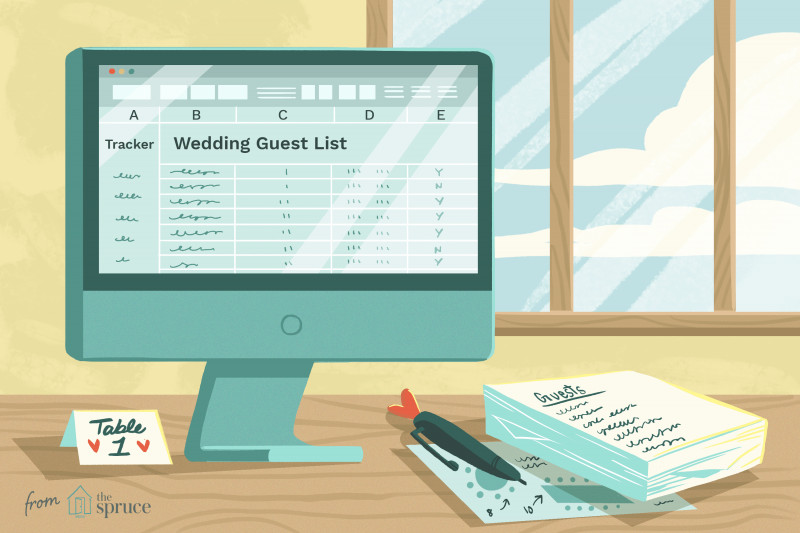 Labels 8 Per Sheet Template Word New 7 Free Wedding Guest List Templates and Managers