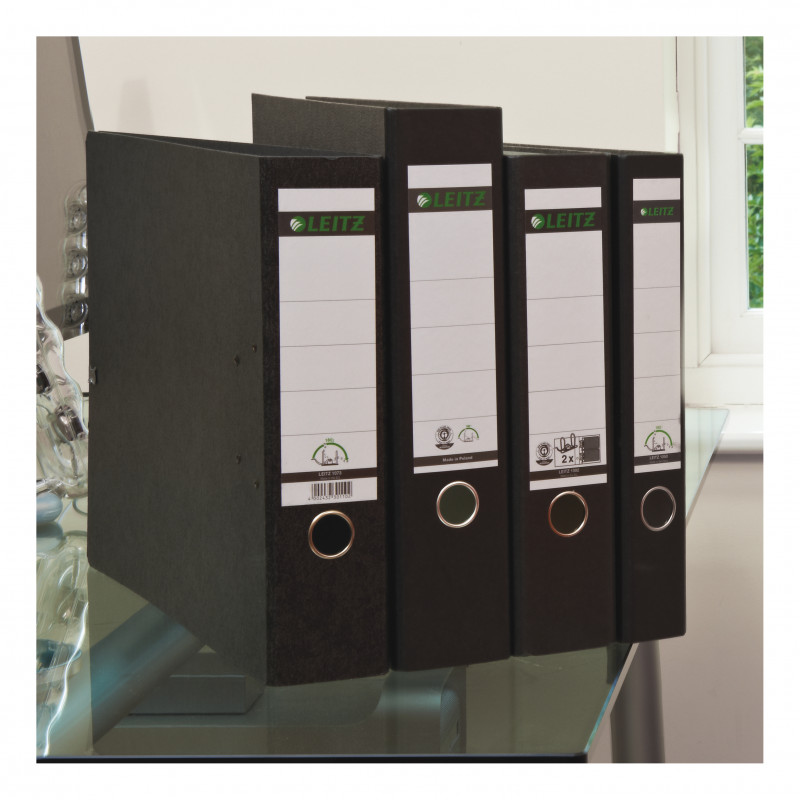 Labels For Lever Arch Files Templates New Leitz Standard Double Lever Arch File 80mm Spine A4 Black