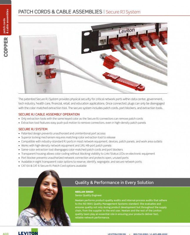 Leviton Patch Panel Label Template Unique Brochure