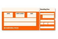Luggage Label Template Free Download Unique Free Flugticket Stock Photo Freeimages Com