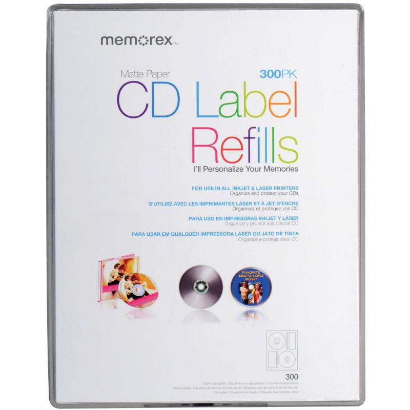 Memorex Cd Labels Template Unique Memorex Cd Label Refill Template Trovoadasonhos