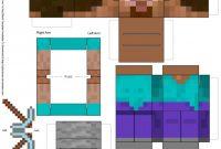 Minecraft Blank Skin Template Unique Minecraft Papercraft Studio Pc Auf Fast Allen Bla¶cken Sitzen