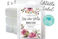 Online Labels Template New Editable Watercolor Floral Label 2×3 Customize
