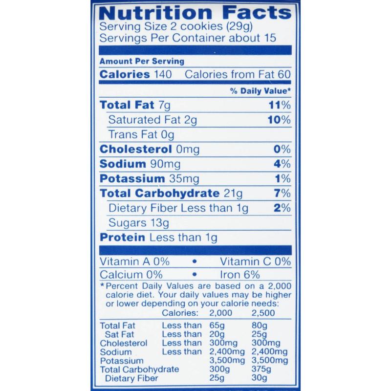 Online Labels Template Unique Nutrition Label For Oreos Nutrition Labels Label