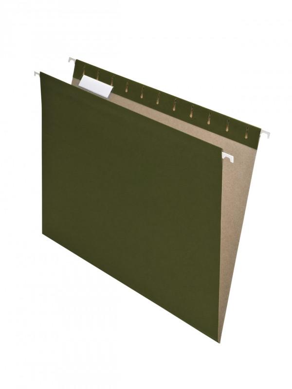 Pendaflex Label Template New Pendaflexa Earthwisea Hanging File Folders Letter Size 100 Recycled Green Pack Of 25 Folders Item 938548