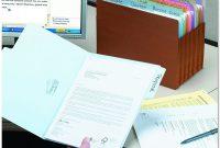 Pendaflex Label Template New Smead Supertab File Folder Oversized 1 3 Cut Tab Letter Size assorted Colors100 Per Box 11961