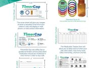 Pill Bottle Label Template Awesome Timercap Automatically Displays Time since Last Opened Built In Stopwatch Smart Pill Bottle Cap Medication Reminder Case 4 Pack Large 4 Oz Amber