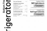 Pressit Label Template New Ge Gbc12iaxblss User Manual Bottom Mount Refrigerator