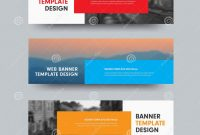 Product Label Design Templates Free New Vector Horizontal Web Banners Design with Place for Photo