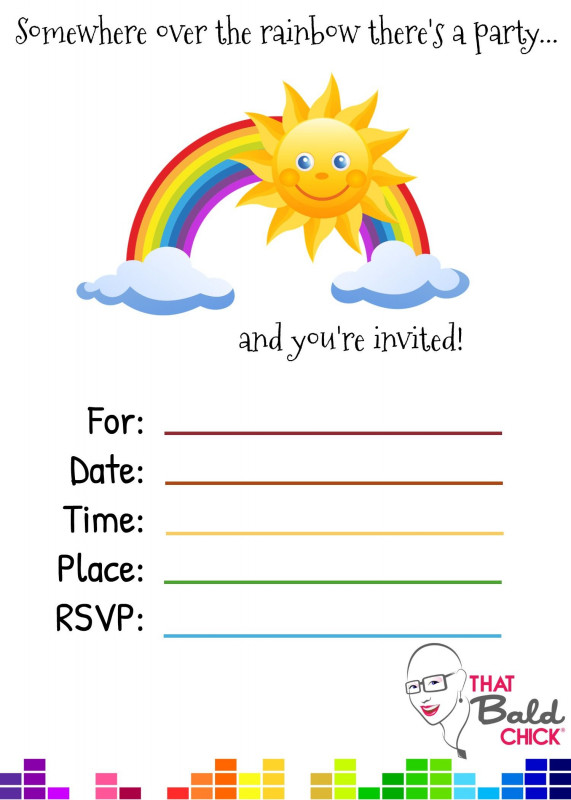 Quill Label Templates Unique How To Throw The Ultimate Rainbow Party With Images