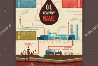 Record Label Website Template Free Unique Oil Company Corporate Template Poster Stock Vector Royalty