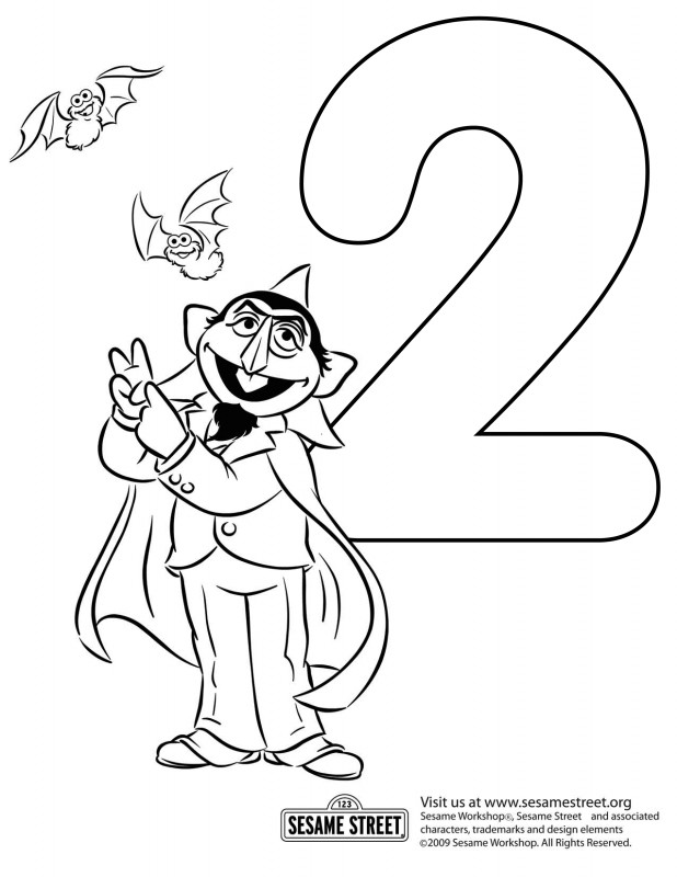 Sesame Street Label Templates New Happy Birthday Sesame Street Coloring Pages
