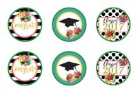 Template for Bottle Labels Awesome 100 Graduation Water Bottle Labels Free Template 1042