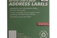 "Usps Shipping Label Template Word Awesome White Laser Address Labels Nsn5144911 1 2 X 1 3 4 Box Of 100 Sheets Abilityone 7530a""¢01a""¢514a""¢4911 Item 393643"