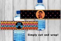 Water Bottle Label Template Free Word Unique Coco Water Bottle Labels Coco Party Coco Printable Labels