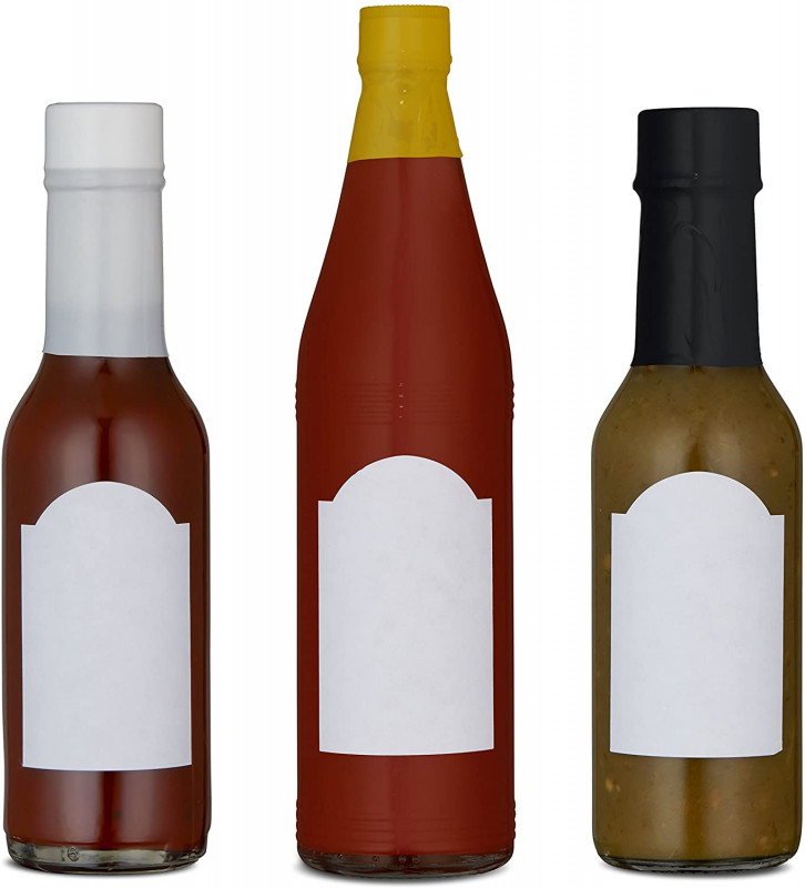 Wine Bottle Label Design Template Unique Woozy Bottle Labels 120 Blank Hot Sauce Labels Perfect Size For 5oz Bottles