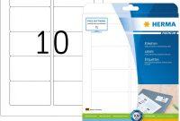 Word Label Template 8 Per Sheet New Herma 5028 Universal Etiketten Din A4 838 X 508 Mm 25