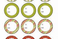 Xmas Labels Templates Free Awesome Christmas Labels Free Printable Templates Dengan Gambar