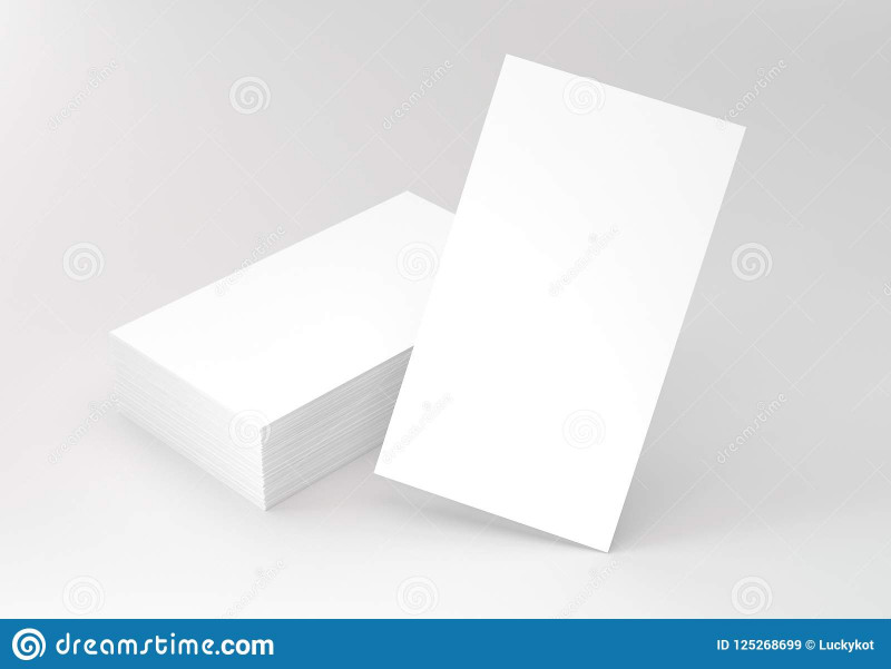 2 Sided Business Card Template Word Unique Vertical Business Cards On Gray Mockup Stock Image Image