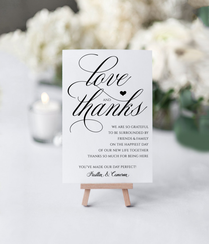 4x6 Photo Card Template Free Unique Elegant Thank You Table Card Template Flat Royal