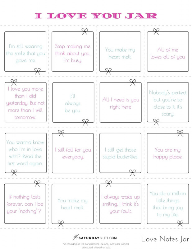 52 Reasons Why I Love You Cards Templates New 52 Reasons Why I Love You Template