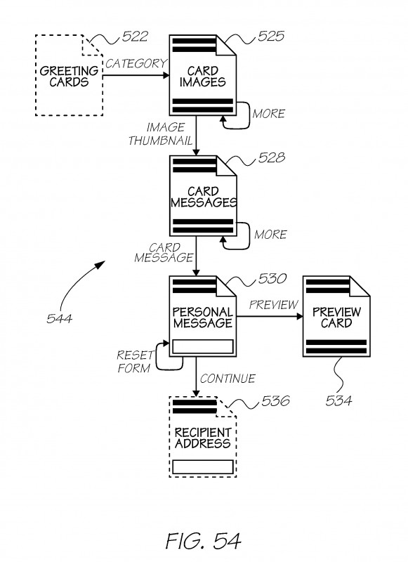 Acceptance Card Template Unique Us20120011214a1 Method Of Delivering Electronic Greeting