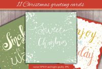 Adobe Illustrator Christmas Card Template Unique 11 Christmas Greeting Cards