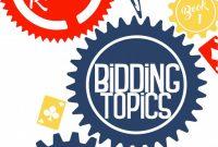 Auction Bid Cards Template New Bidding topics Rodwell Eric 9781944201043 Amazon Com Books