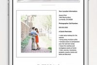 Auction Bid Cards Template New Engagement Session Reminder Email Shopgalleree Com