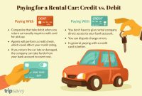 Automotive Business Card Templates New Rental Cars Paying with Credit or Debit Cards