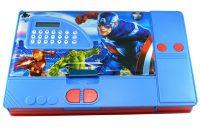 Avengers Birthday Card Template New Kiku Avengers Gadget Multipurpose Pencil Box with Calculator