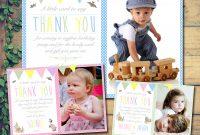 Baptism Invitation Card Template New 10 Personalised Christening Baptism Duck Rabbit Birthday