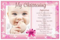 Baptism Invitation Card Template New Free Printable Baby Christening Invitations Jowo