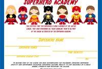 Batman Birthday Card Template Unique Resultado De Imagen De Superhero Diploma Nia±os Superheroes
