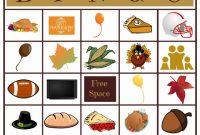 Bingo Card Template Word Awesome Free Printable Thanksgiving Bingo Thanksgiving Bingo