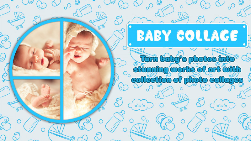 Birthday Card Collage Template New Prenesite Baby Pics Baby Collage Microsoft Store Sl Si