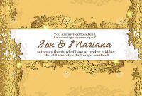 Birthday Card Collage Template Unique Template Greeting Card with Text In Gold Wedding tones