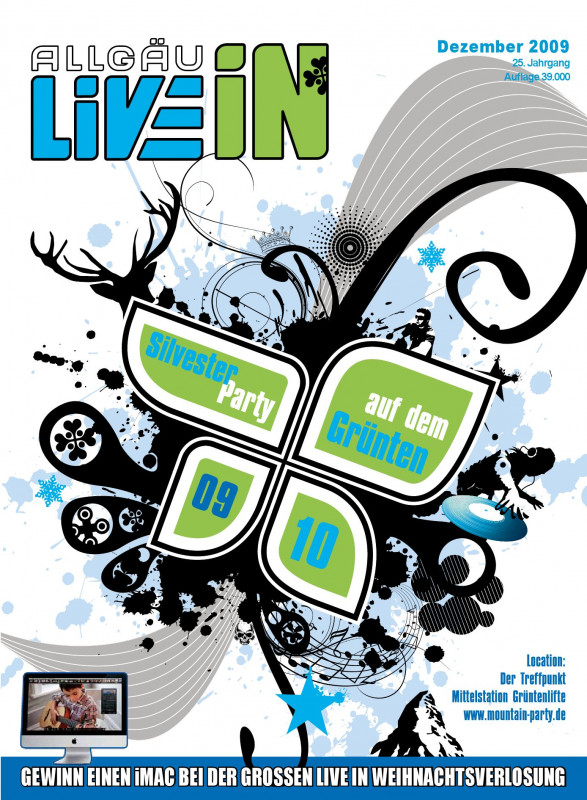 Birthday Card Indesign Template Awesome Allga¤u Live In Ausgabe 12 2009 By Live In Verlag Issuu
