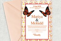 Birthday Card Indesign Template Awesome Wedding Invitation Psd Template 03