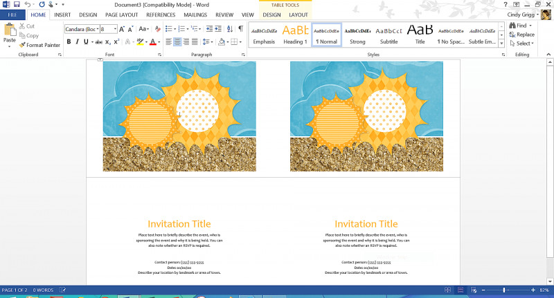 Birthday Card Template Microsoft Word New The 11 Best Summer Templates For Microsoft