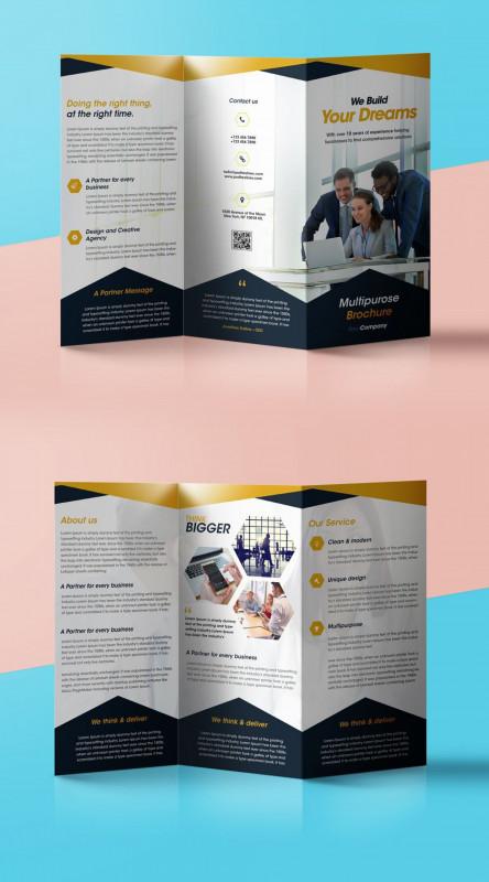 Blank Bingo Card Template Microsoft Word Awesome Tri Fold Brochure Template Free Addictionary