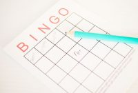 Blank Bingo Card Template Microsoft Word Unique Free Baby Shower Bingo Cards Your Guests Will Love
