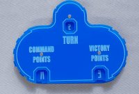 Blank Magic Card Template Unique Blank Warhammer 40k Wound Dial Tracker Counter Marker Set